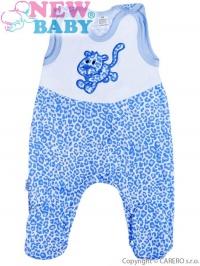 Dojčenské dupačky New Baby Leopardík modré NEW BABY