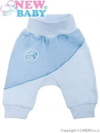 Dojčenské tepláčiky New Baby Clouds modré NEW BABY