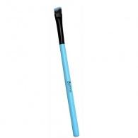 Šikmý štětec na oční stíny malý s rukojetí Pastell (Eyeshadow Brush Pastell) Sefiros