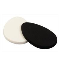 Oválná houbička na make-up Black & White (Make-Up Sponge) 2 ks Sefiros