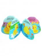 Detská pískacia knižka do vody Baby Mix kačička BABY MIX