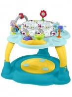 Multifunkčný detský stolček Baby Mix modro-žltý BABY MIX