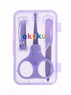Detská manikúra Akuku fialová AKUKU