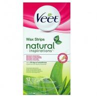 Studené voskové pásky Natural Inspirations 12 ks Veet