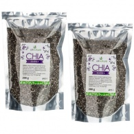 Allnature Chia semínka 200 g + 200 g ZDARMA