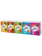 Papierové vreckovky Linteo Kids mini 10x10ks biele 3-vrstvové Linteo