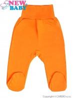 Dojčenské polodupačky New Baby oranžové NEW BABY