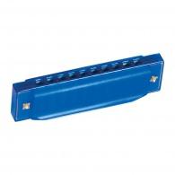 Modrá foukací harmonika