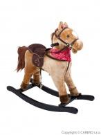 Hojdací koník BAYO Rocky béžový BAYO