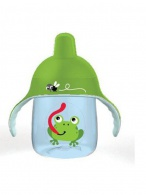 Kúzelný hrnček Avent Premium žaba 260 ml zelený AVENT