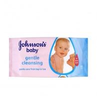 Vlhčené ubrousky Baby Gentle Cleansing 56 ks JOHNSON`S Baby
