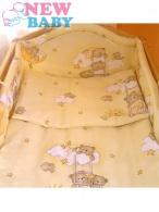 2-dielne posteľné obliečky 100/135 cm New Baby žlté NEW BABY