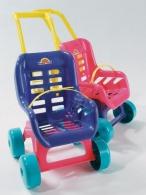 Kočík pre bábiky - ružový DOHANY