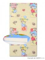 Detská penová matrac žltá - rôzne obrázky DANPOL