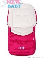 Zimný fusak New Baby Classic Fleece pink NEW BABY