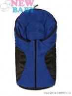 Zimný fusak New Baby Car blue NEW BABY