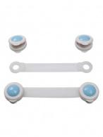 Poistky na šuplíky a chladničky Baby Ono 2ks - biele 953/1 BABY ONO