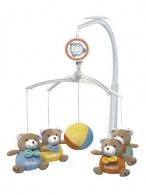 Kolotoč nad postieľku Baby Mix Medvedíky Baby BABY MIX