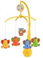 Kolotoč nad postieľku Baby Mix sloni BABY MIX