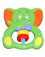 Hrkálka Baby Mix Sloník zelený BABY MIX
