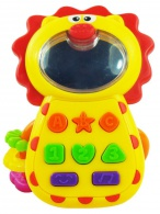 Detská hračka so zvukom Baby Mix  Levíček BABY MIX