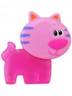 Chladiace hryzátko Baby Mix Mačička ružove BABY MIX
