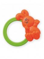 Detská hrkálka Baby Mix zajačik oranžový BABY MIX