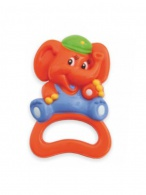 Detská hrkálka Baby Mix sloník BABY MIX