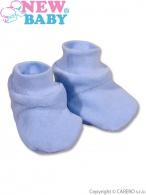 Detské papučky New Baby modré NEW BABY