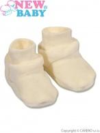 Detské papučky New Baby béžove NEW BABY