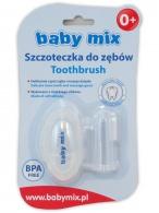 Prvá zubná kefka s puzdrom Baby Mix BABY MIX