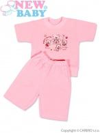 Detské letné pyžamo New Baby ružové NEW BABY
