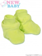 Detské papučky New Baby zelené NEW BABY