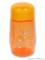 Fľaša so širokým hrdlom Akuku 300 ml oranžová AKUKU