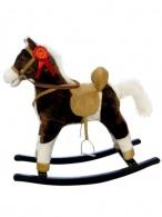 Hojdací koník Milly Mally Mustang tmavo hnedý MILLY MALLY