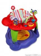 Multifunkčný detský stolček Baby Mix červený BABY MIX