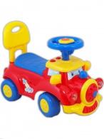 Detské Jezdítko so zvukom Baby Mix Happy Train červené BABY MIX