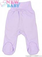 Dojčenské polodupačky New Baby fialové NEW BABY