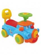Detské jezdítko so zvukom Baby Mix Happy Train modré BABY MIX