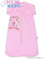 Dojčenský spací vak New Baby ružový NEW BABY