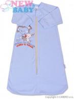 Dojčenský spací vak New Baby modrý NEW BABY