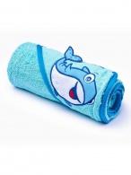Detská osuška Sensillo 3D Zvieratká 75x75 cm blue SENSILLO