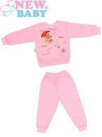 Detské froté pyžamo New Baby ružové NEW BABY