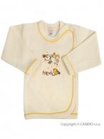 Dojčenská košieľka Bobas Fashion Benjamin béžová BOBAS FASHION