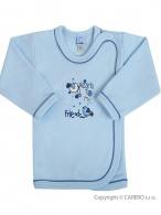 Dojčenská košieľka Bobas Fashion Benjamin modrá BOBAS FASHION