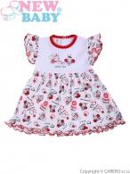 Dojčenské šaty New Baby Lienka NEW BABY