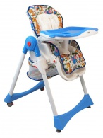 Jedálenská stolička Baby Mix modrá BABY MIX