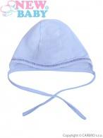 Dojčenská čiapočka New Baby modrá NEW BABY