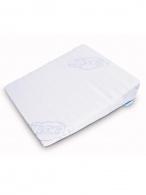 Dojčenský vankúš - klin Sensillo biely 30x37 cm do kočíka SENSILLO