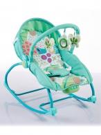 Detské ležadlo 2v1 Baby Mix green BABY MIX